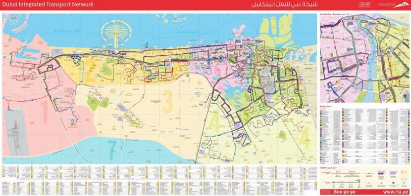 dubai térkép